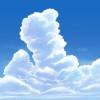 入道雲を描いてみた