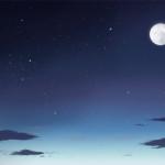 夜空を描いてみた