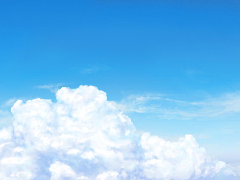 青空と雲800*600
