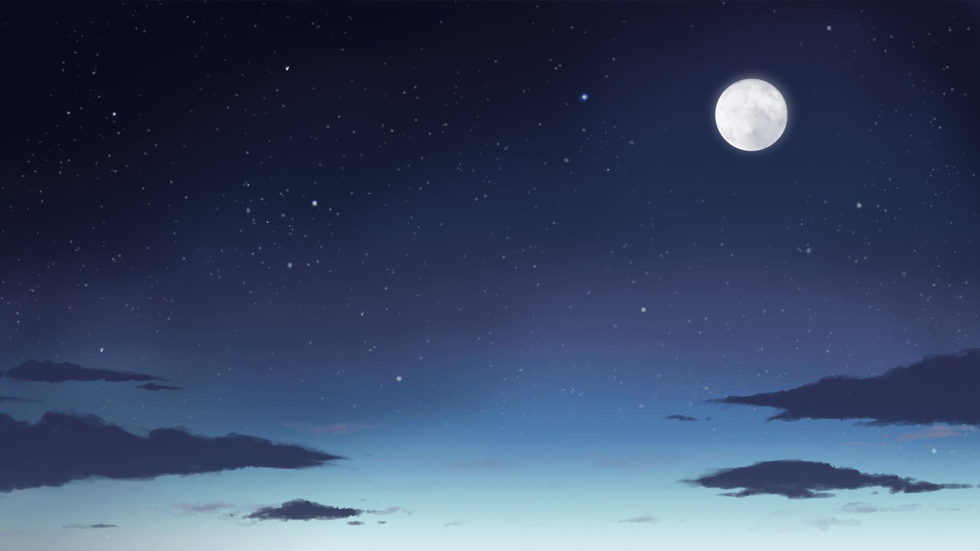 夜空1920*1080