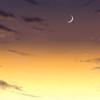 【フリー背景素材】 夕空