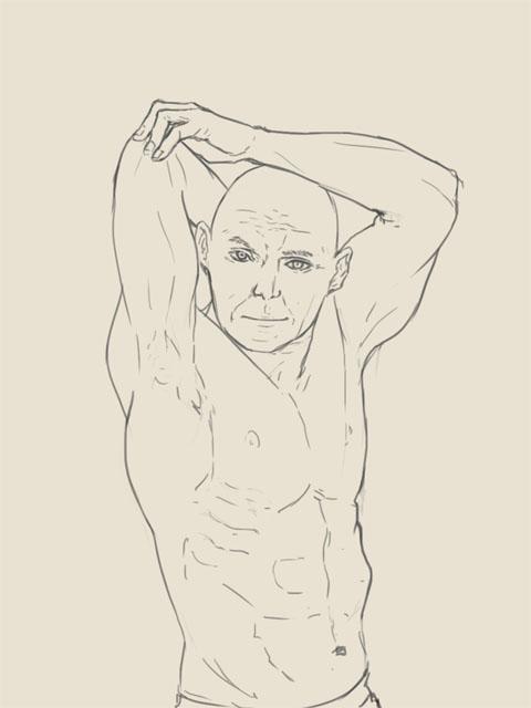 筋肉の練習……