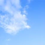 青空の遠く ※写真です